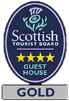 Barcaldine Scottish Tourist Board Gold badge