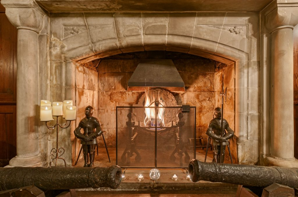 Black Castle, Barcaldine Castle fireplace
