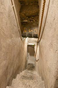 secret staircase at Barcaldine Castle, Argyll's Black Castle