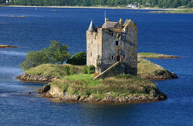 Castle Stalker, Loch Laich, things to do in Oban and Argyll