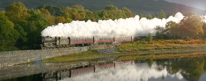 The Jacobite, West Highland Railway Line, things to do in Oban and Argyll