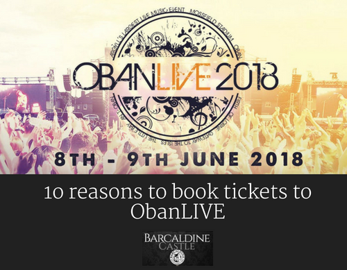10 Reasons to Book Tickets for ObanLIVE