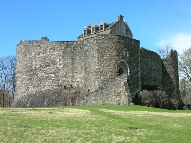 13th Century, Castle, Dunstaffnage Castle, Scotland