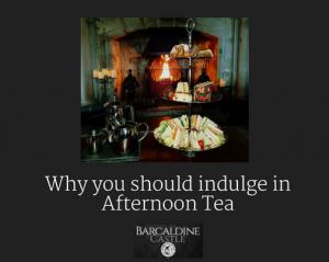 Afternoon Tea, Barcaldine Castle, Oban