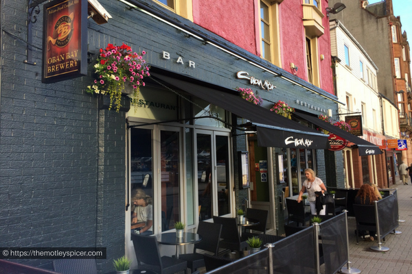Cuan Mór, places to Eat in Oban