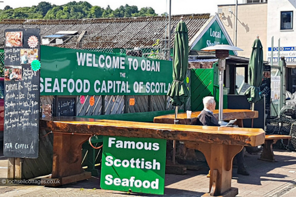 Oban Seafood Hut, places to eat in Oban