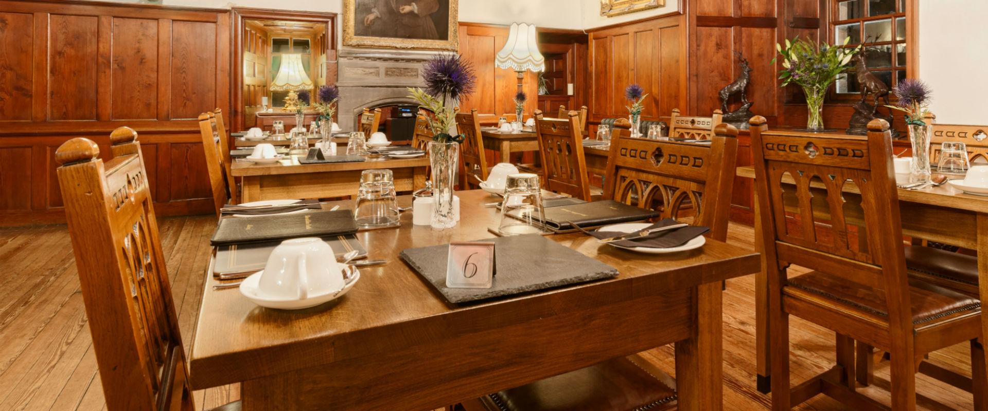 Black Castle Restaurant serving European Food from New Chef John Larkins