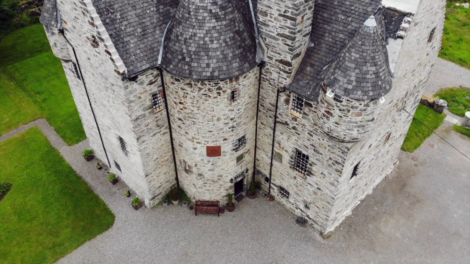 Castle Drone Video