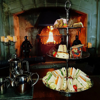 Afternoon Tea at Barcaldine Castle