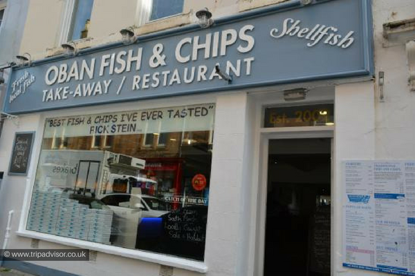 Oban Fish and Chips, Place to eat in Oban