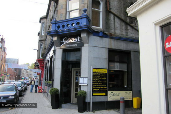Coast, places to eat in Oban